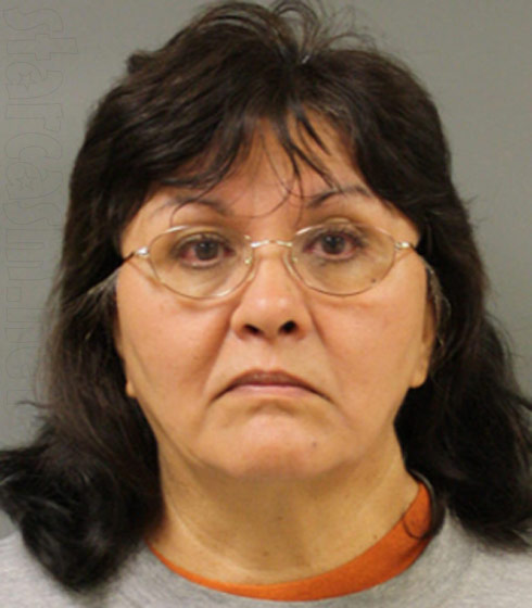 Texas teacher Irene Stokes mugshot photo
