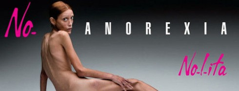 Isabelle Caro Anorexia Ad