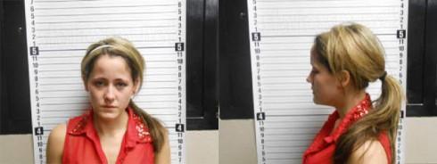 Jenelle Evans mug shot photos from 2013 heroin arrest