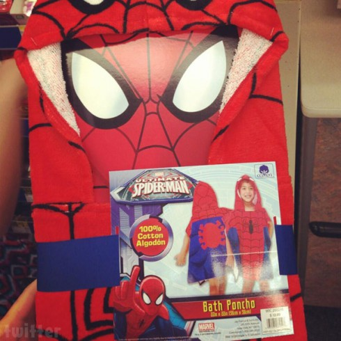 Jenelle Evans gets her son Jace a Spider-Man poncho after getting out of jail from heroin arrest