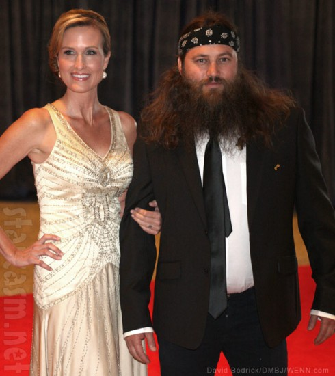 Korie Robertson and Willie Robertson 2013 White House Correspondents' Dinner