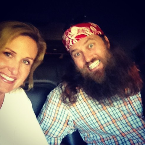 Korie Robertson and Willie Robertson in Washington DC