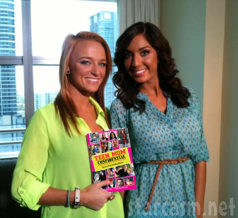 Maci Bookout Farrah Abraham Teen Mom Confidential book