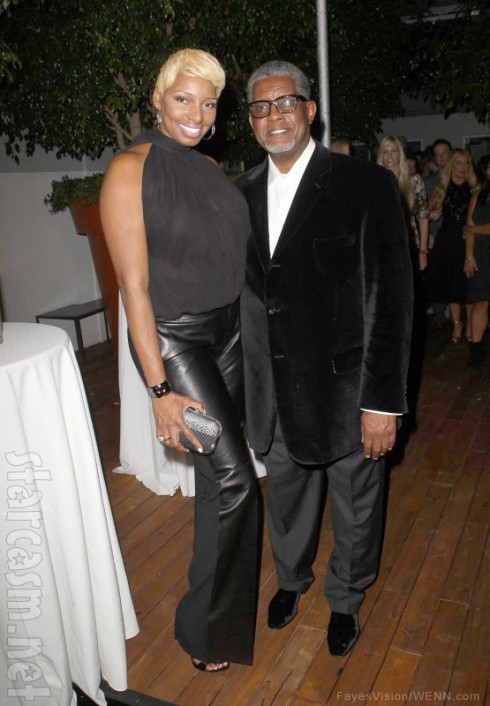 NeNe and Gregg Leakes attend Voli Lights Vodkas Event in West Hollywood, California