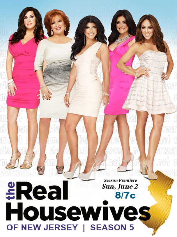 Real Housewives of New Jersey season 5 premiere date and official cast