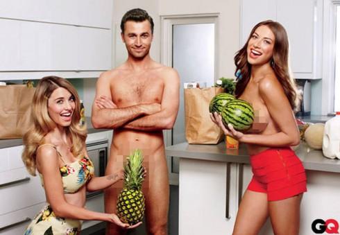 Stassi Schroeder topless James Deen GQ