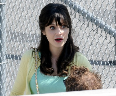 Zooey Deschanel Boston Bombing Tweet