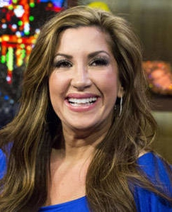 Jacqueline Laurita before her neck lift