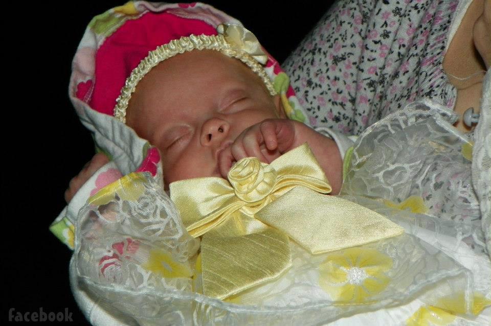 PHOTOS Jeremy And Leah Calvert's Daughter Adalynn Faith