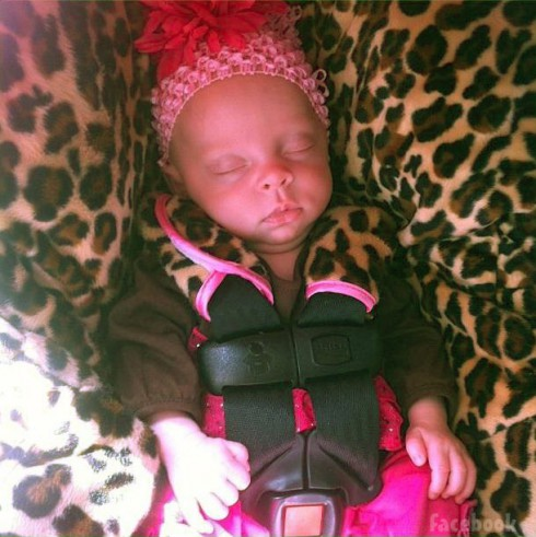 Leah Messer and Jeremy Calvert's daughter Adalynn Calvert