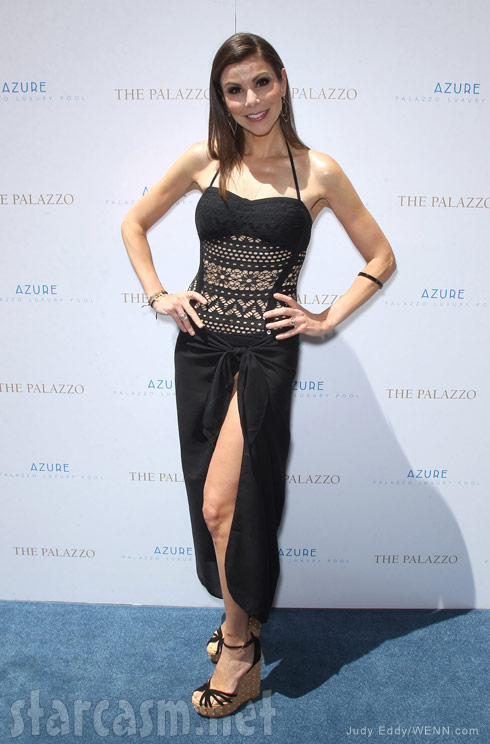 Heather Dubrow swimsuit