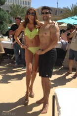 Heather McDonald bikini photo with Eddie Judge without a shirt