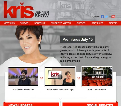 KrisJennerShow.com website launches