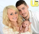 Teen Mom Leah Calvert husband Jeremy Calvert and their daughter Adalynn Faith Calvert