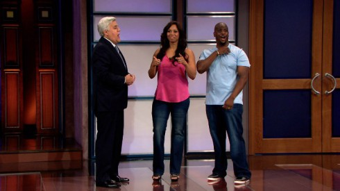 Pumpcast News couple on Jay Leno