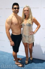 Tamra Barney Eddie Judge no shirt