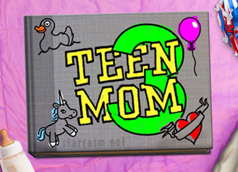 Teen Mom 3 logo scrapbook