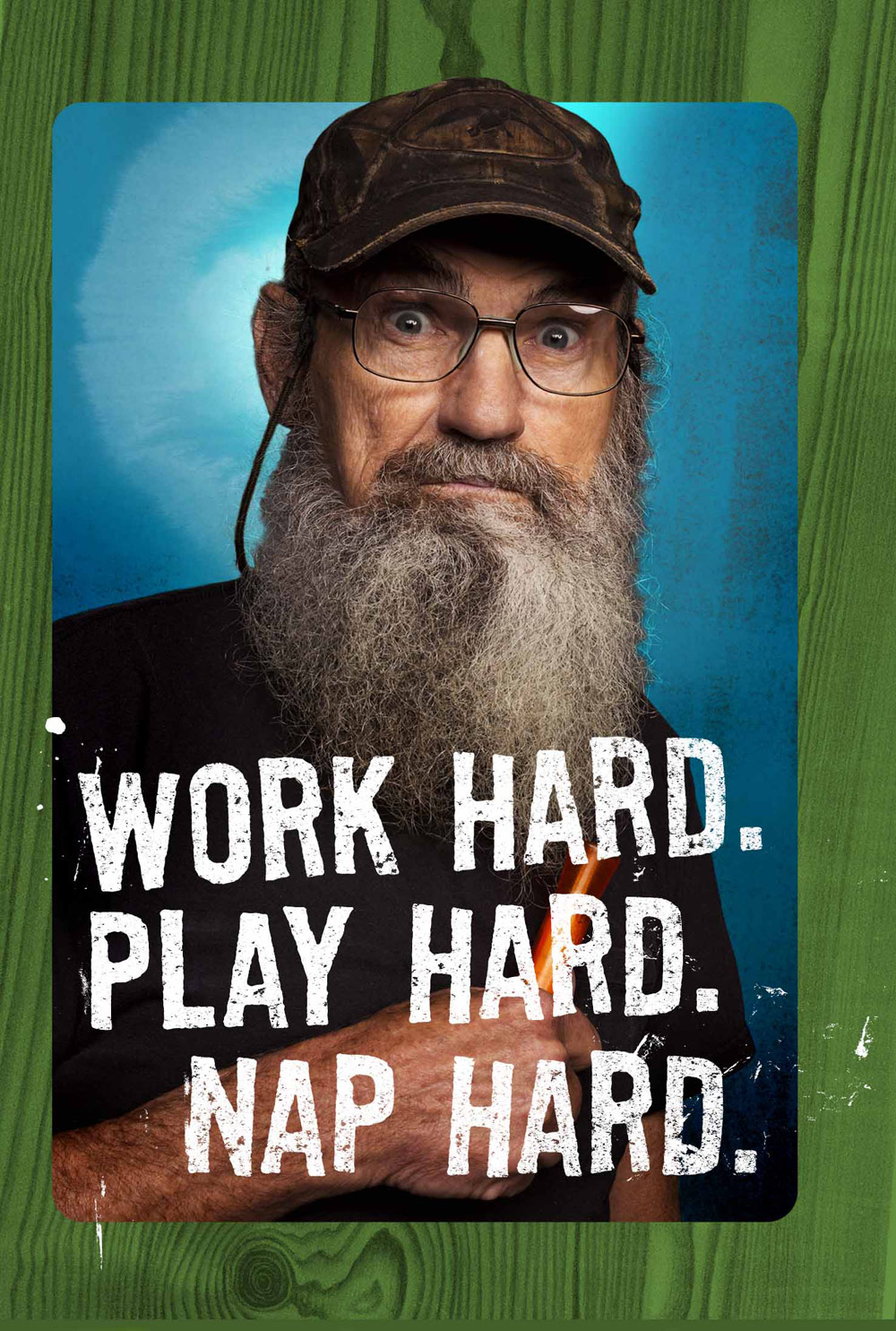 Duck Dynasty Uncle Si Hallmark card