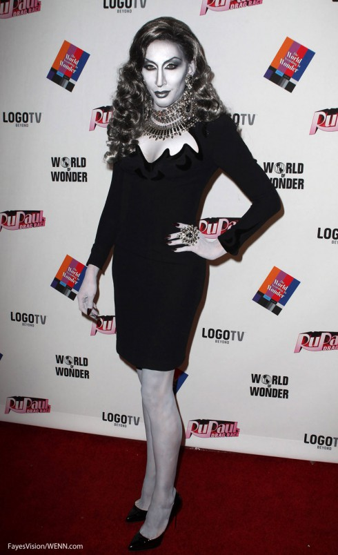 Detox Black And White Red Carpet Rupaul S Drag Race Reunion