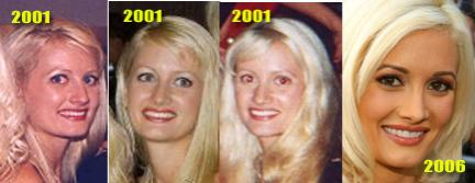 Holly madison without makeup before and after nose job young photos