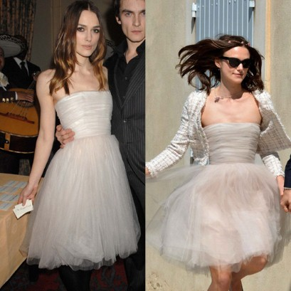 Keira Knightley Repurposed Wedding Dress For Second Time