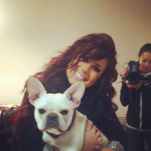 Chelsea Houska filming Teen mom 2 season 5