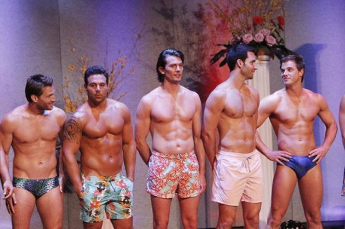 Men compete in Mr America on The Bachelorette