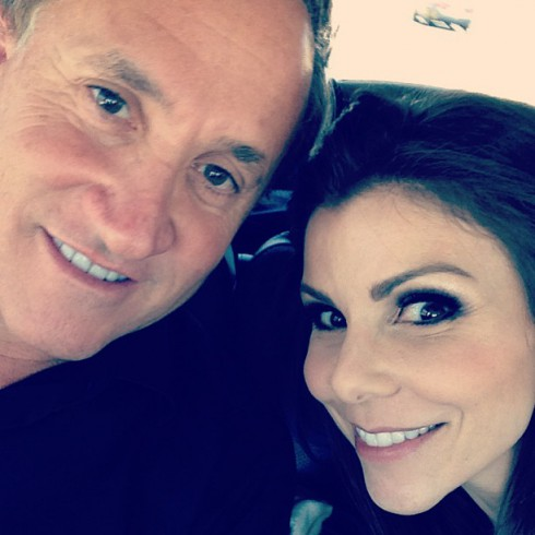 Dr. Terry Dubrow and Heather Dubrow attend Tamra Barney and Eddie Judge's wedding