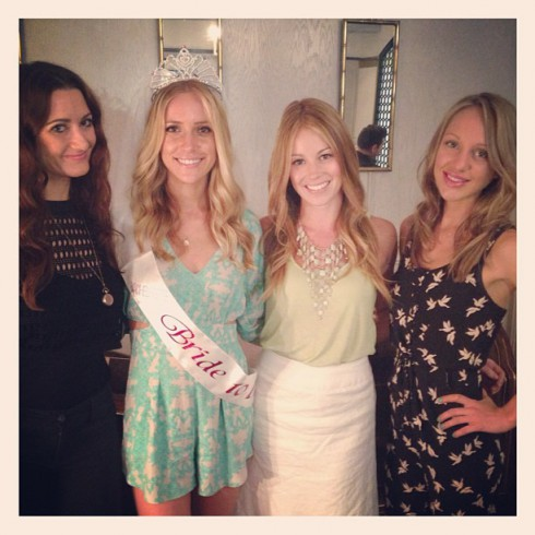 Kristin Cavallari at her Los Angeles bridal shower
