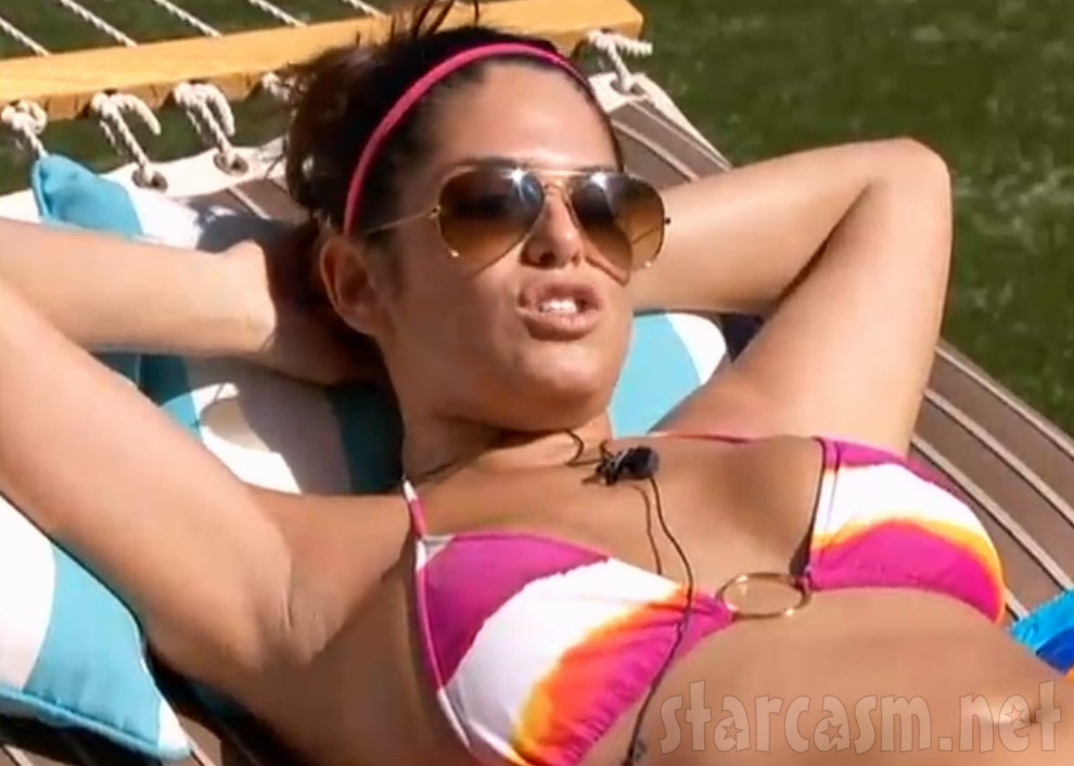 Big Brother 15 Amanda bikini from the live feed