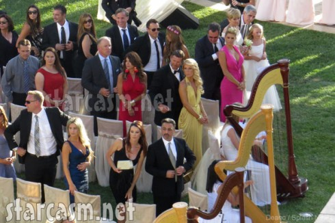 Tamra Barney wedding guests including Real Housewives of Orange County cast mates