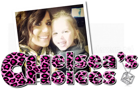 Chelsea Houska Chelsea's Choices website logo with pink leopard print