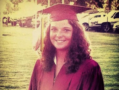Chelsey Ramer Eagle Feather Graduation