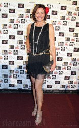 Countess LuAnn de Lesspes red carpet at Sonja Morgan's cabaret