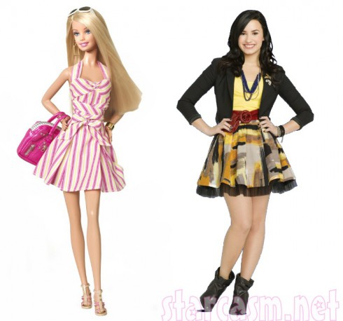 Demi Lovato Wants  Normal Barbie