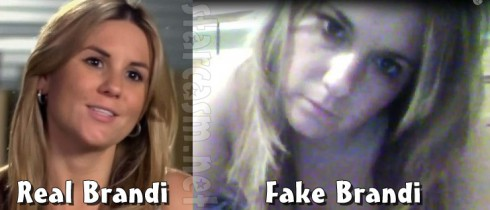 Brandi Passante sex tape posted by Hunter Moore is fake