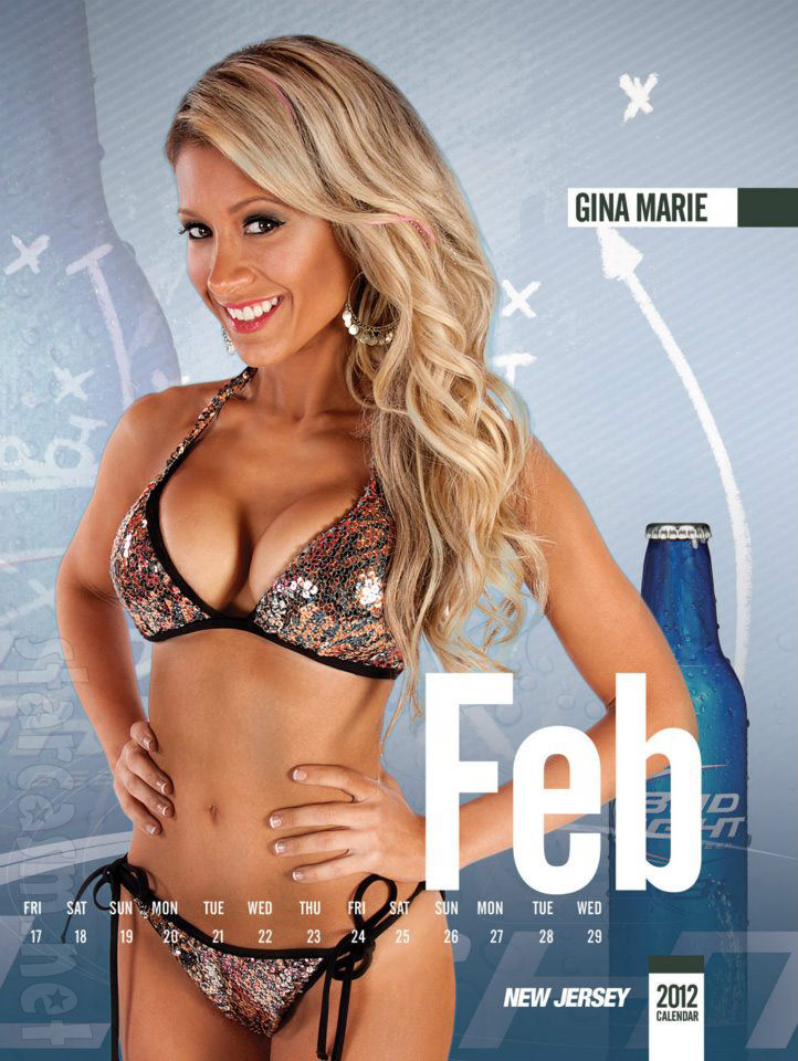 Big Brother 15 GinaMarie Zimmerman as a Bud Light Fantasy Girl, Maxim