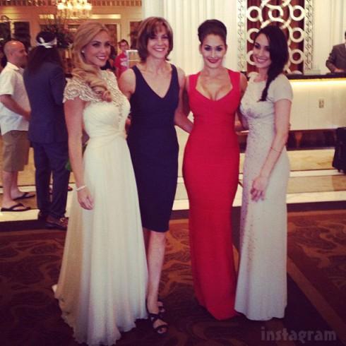 2013 Miss USA judges Jessica Robertson Wendie Malick Nikki Bella