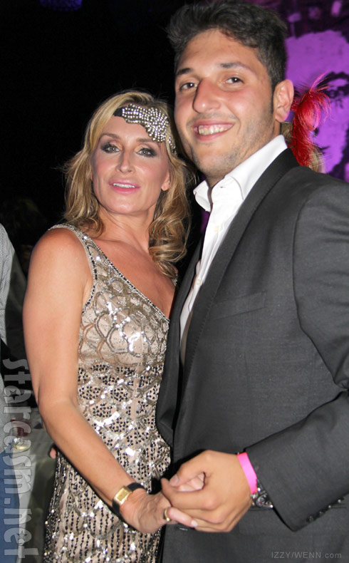 Sonja Morgan with boyfriend Ben Benalloul