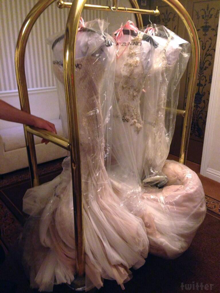 Tamra Barneys 3 Wedding Dresses By Designer Mark Zunino