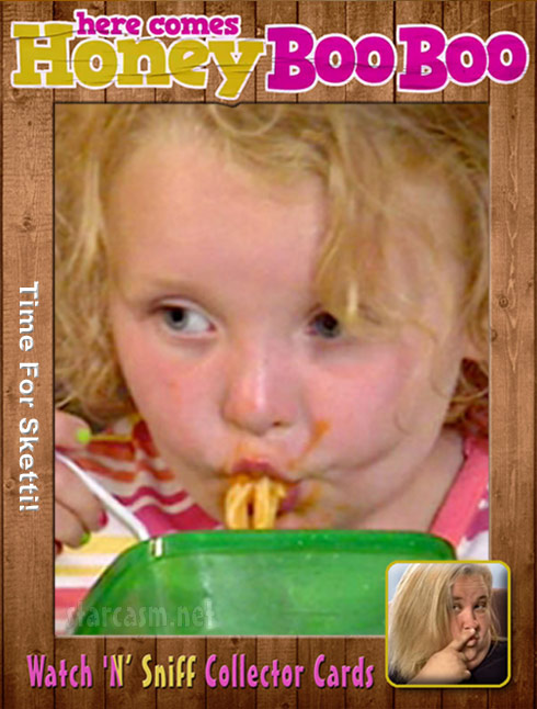 Honey Boo Boo Watch N Sniff Collector Card