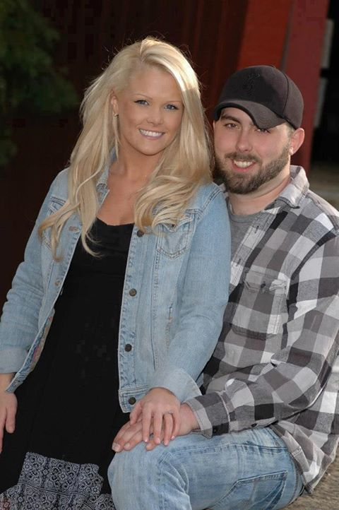 Teen Mom 2 star Corey Simms and Miranda Patterson engagement photo