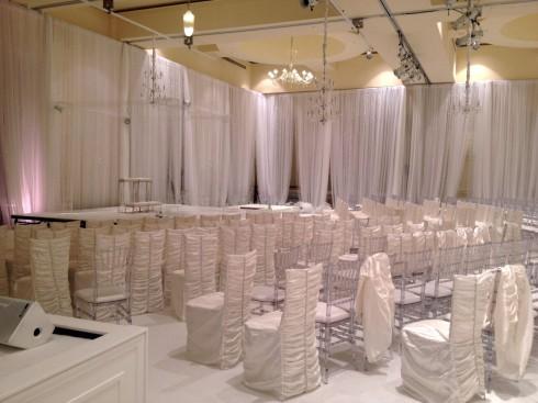 NeNe Leakes' wedding ceremony scene