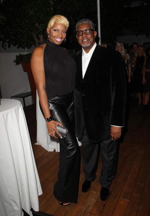NeNe Leakes and Gregg Leakes attend Voli Lights Vodkas Event in West Hollywood, California, USA.
