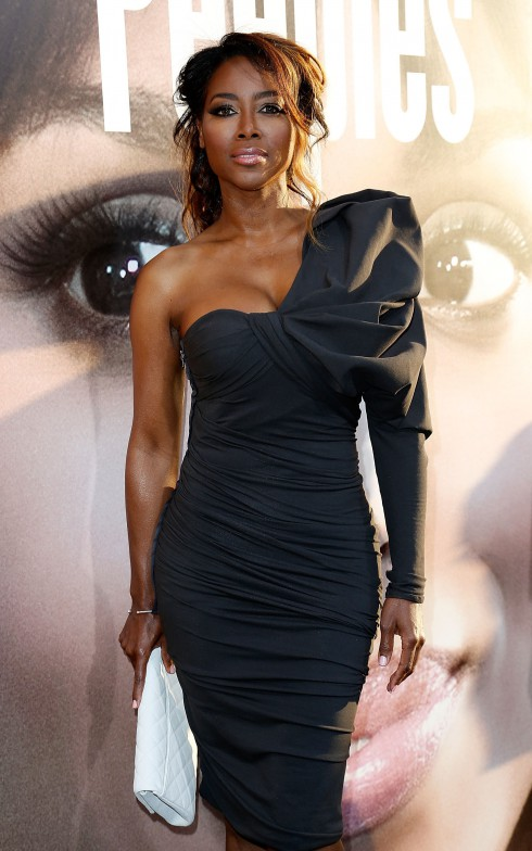 Kenya Moore at the premiere of 'Peeples' presented by Lionsgate Film and Tyler Perry at ArcLight Hollywood in Los Angeles, CA, United States.