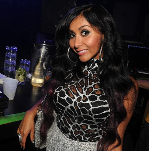 Nicole 'Snooki' Polizzi at Passion Nightclub Seminole Paradise in Seminole Hard Rock Hotel and Casino in Hollywood, Florida, United States.