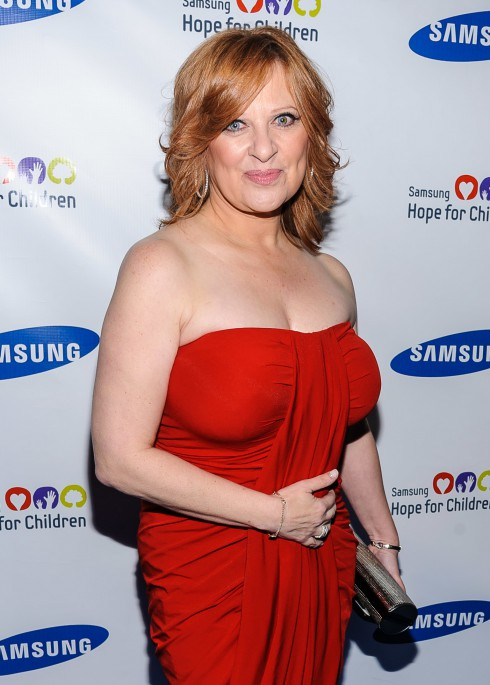 Caroline Manzo at the Samsung Hope For Children Gala at Cipriani Wall Street in New York City, NY, United States.