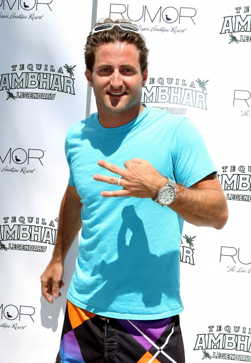 Jesse Csincsak attends The City's Hottest Bachelor/Bachelorette Party At Rumor Las Vegas in Las Vegas, Nevada.