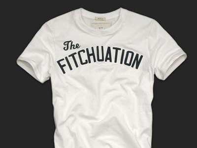 Abercrombie & Fitch's The Fitchuation t-shirt