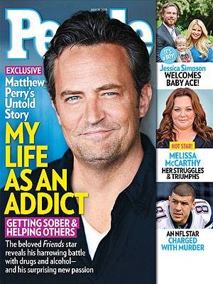Matthew Perry on PEOPLE Magazine My Life As An Addict